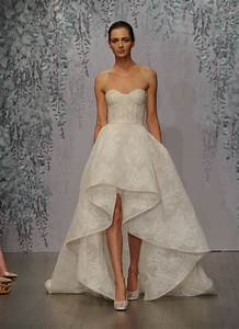 get whitney port39s high low wedding dress look With high to low wedding dress