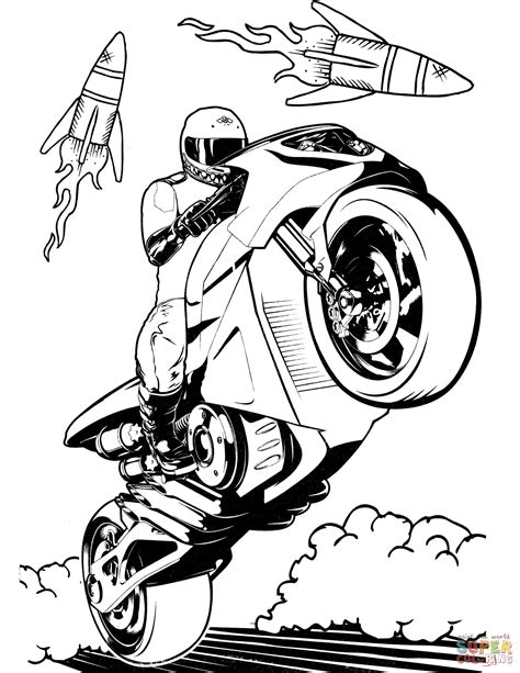 Hot Wheels Battle Force 5 Free Colouring Pages