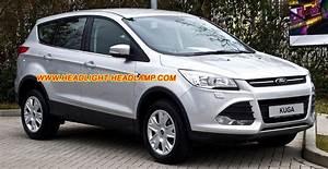 Ford Kuga Halogen Normal Headlamp Upgrade To Hid Bi