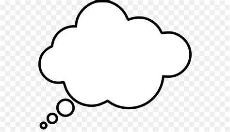 Thought Clipart Thought Speech Balloon Clip Thinking Cloud Cliparts