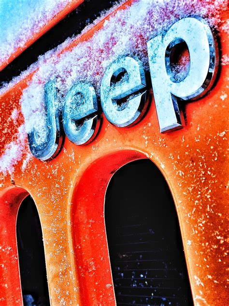 Jeep Grill Wallpaper by Jeep Grill And Emblem Iphone Wallpaper Cars Jeep