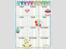 Fabulosos y lindos diseños de calendarios para los