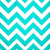 Teal And White Chevron Wall | 736 x 736 jpeg 83kB