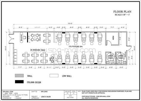 salon design layout salon design layout  longs salon