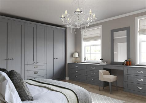 Bedroom Cabinets Grey by Traditional Hinged Wardrobe In Dust Grey Fumro