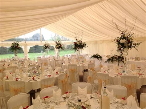 churchill marquees images  interiors  real wedding