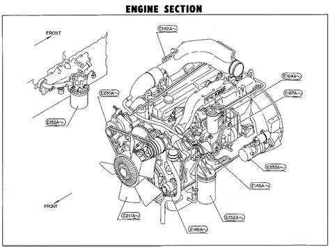 Nissan Truck Parts Cgba Pftc Diesel Engine Maxindo