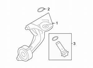 Mercury Montego Engine Oil Filter Adapter Seal
