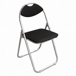 Chaise Pliante Noire : chaise pliante noire tabouret de bar accessoires de cuisine poubelle tabouret etc ~ Teatrodelosmanantiales.com Idées de Décoration
