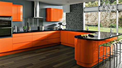 Kuche Orange by Modern Kitchen Orange A Positive Mood In All