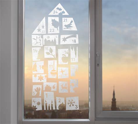 Fensterdekoration Weihnachten by Fensterdeko Winter Advent Weihnachten Gecko In The Box