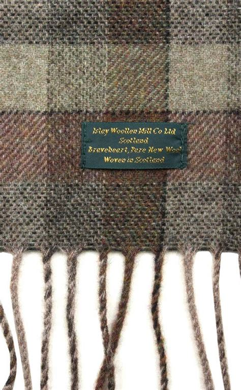 Next Wool Rug by Braveheart Tartan Soft Wool Scarf By Scotweb