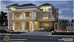Modern Villa Elevation Emilyevanseerdmans
