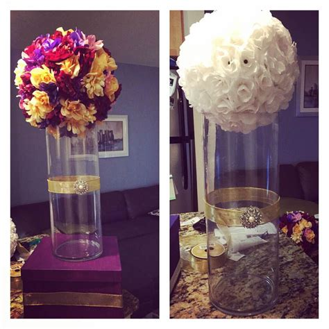 flower ball centerpiece silk real or diy