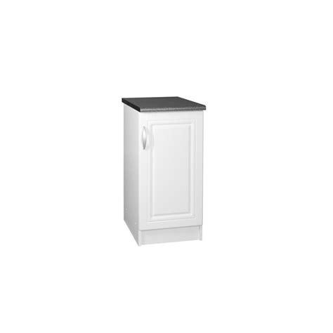 meuble de cuisine largeur 30 cm meuble bas de cuisine dina 30 cm 1 porte 1 étagère