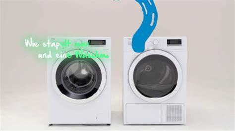 Waschmaschine Und Trockner Stapeln