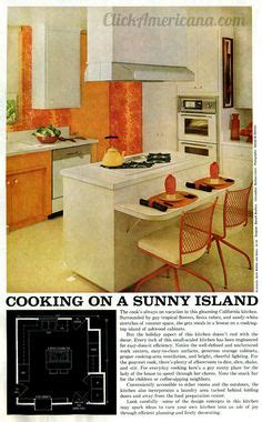 island kitchen images 1000 images about decor 1960 s on vintage 1960