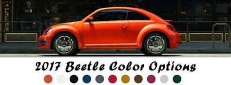 2017 volkswagen beetle paint color options