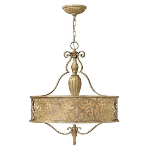 gold hanging lights edwardian style pendant chandelier with brushed caramel