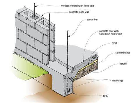 best flooring for basement concrete foundation walls branz renovate