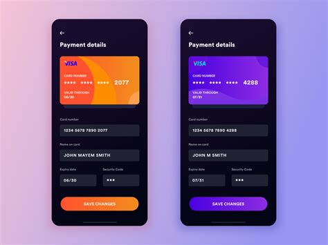 With your physical credit card no longer the typical target, you may be wondering how hackers and thieves can get their hands on your credit card. Daily UI #4: Credit Card Info Form Dark UI by Shirish Shikhrakar on Dribbble