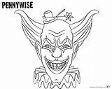 Coloring Pages Pennywise Hat Printable Print Adults Getcolorings sketch template