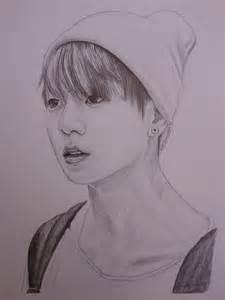 Jung Kook BTS Drawings