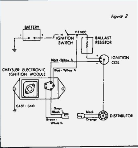 wiring diagram electronic ignition mopar electronic voltage regulator wiring diagram