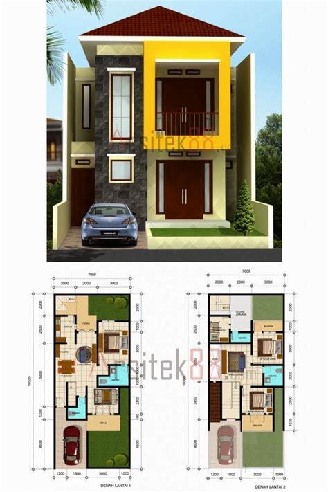 denah rumah minimalis ukuran  denah rumah minimalis