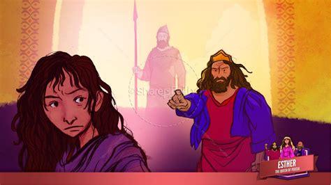 esther bible story 740 | slide 292