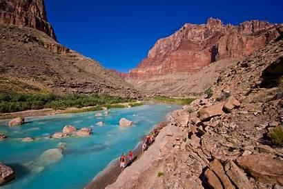 Canyon Grand Colorado River Map Rafting Trips