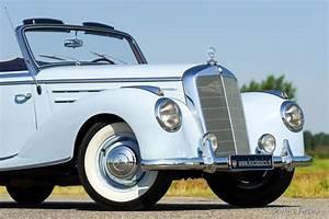 Garage Mercedes 95 : mercedes benz 220 a cabriolet 1954 classicargarage de ~ Gottalentnigeria.com Avis de Voitures
