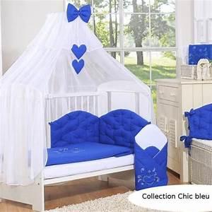 Tour De Lit Bleu Marine : cat gorie tour de lits du guide et comparateur d 39 achat ~ Teatrodelosmanantiales.com Idées de Décoration