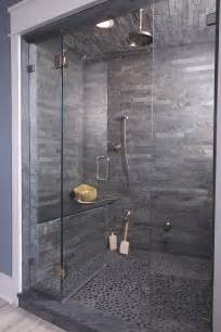 Gray Bathroom Shower Tile Ideas