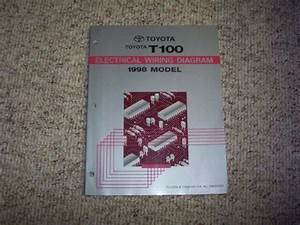 1998 Toyota T100 Truck Electrical Wiring Diagram Manual