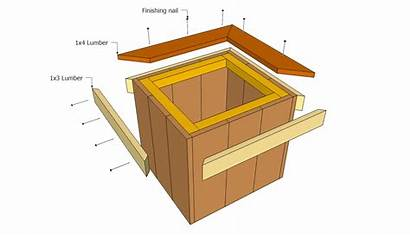 Planter Plans Wooden Planters Outdoor Woodworking Trims