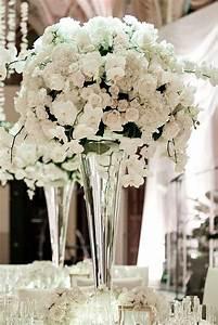 103 best white orchid wedding images on pinterest decor With white wedding flower arrangement ideas