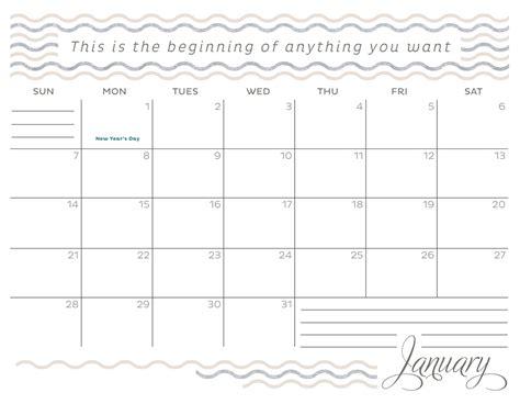 2018 Calendar Template January 2018 Calendar Excel Template Calendar 2018