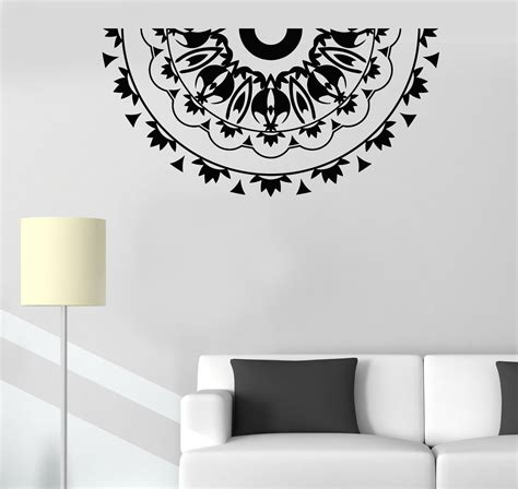 Vinyl Wall Decal Mandala Room Decoration Pattern Stickers