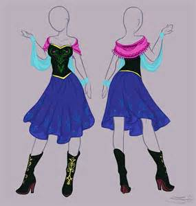 Dresses Anna From Frozen