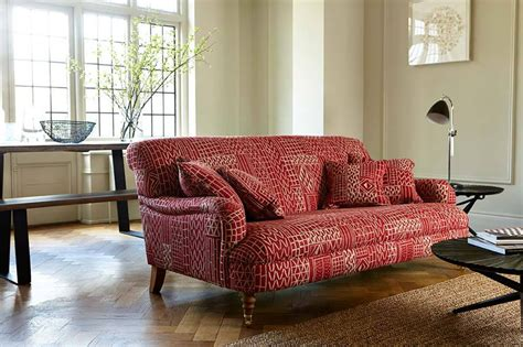 Patterned Loveseat by Patterned Sofas Patterned Fabric Designs