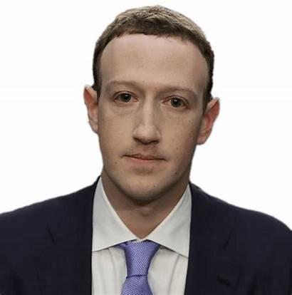 Zuckerberg Mark Transparent Executive Chief Clip Social