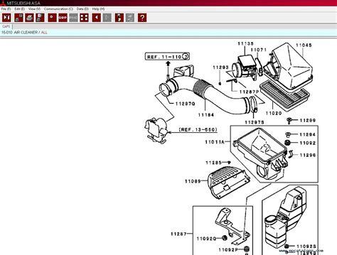 Mitsubishi Dealer Parts by Mitsubishi Epc Europe General Usa Japan Parts Catalog 2019