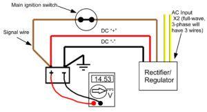 recitifer regulator signal wires rick s motorsport electrics blog and more