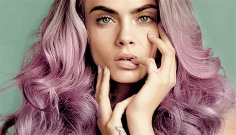 Coloured Hair by Fashion Get Cara Delevingne S Mermaid Coloured Hair Today
