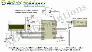 Android Mobile And Lm35 Temperature Sensor Based Wireless