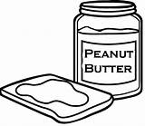 Peanut Butter Coloring Pages Template Templates sketch template