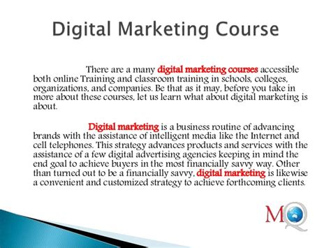 digital marketing course institute digital marketing course mind q systems