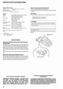 Sony Cdx Gt21w Wiring Harnes Diagram