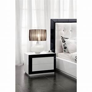 Table De Chevet Blanc Laqué : object moved ~ Teatrodelosmanantiales.com Idées de Décoration